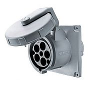 Hubbell M5100R7 100A 480V 5-WIRE Receptacle