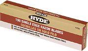 Hyde 13135 Single Edge Razor Blades 100PK