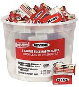 Hyde 49500 Razor Blade Pail 100/5-Packs