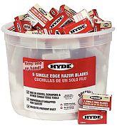 Hyde 49500 Razor Blade Pail 100/5-Packs