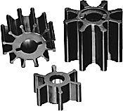 ITT Jabsco 119790001P 8 Blade Neoprene Impeller