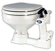 ITT Jabsco 290903000 Compact Bowl Manual Marine Toilet