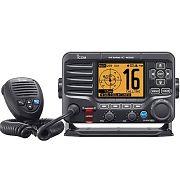 Icom M506-21 Black VHF Radio NMEA2000 and AIS Front Mic