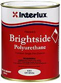 Interlux Brightside Polyurethane High Gloss Paint Quart