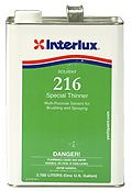 Interlux Special Thinner 216 Gallon