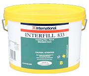 Interlux YAA813HG Interfill 833 Part A Fine Finishing Fairing Compound Half Gallon