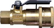 JR Products 07-30435 Coupler with Shut Off