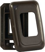 JR Products 12195 Single Sw Base/Face Plate Brw