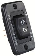 JR Products 12355 Single Slideout Switch Black