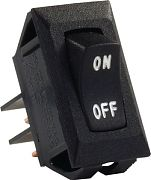 JR Products 12595 Labeled 12 Volt On/Off Switch Blck