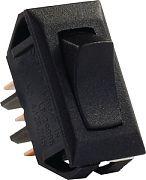 JR Products 12621-5 Std 12 Volt On/On Switch Blk PK5