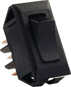 JR Products 12625 Standard 12 Volt On/On Switch Blck