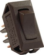 JR Products 12645 Standard 12 Volt On/On Switch Brwn