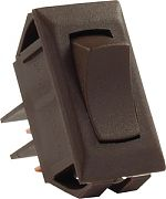JR Products 12715 12 Volt Mom On/Off Switch Brown