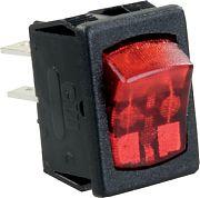 JR Products 12765 Mini Ilum.On/Off 12 Volt Sw Rd/Bl