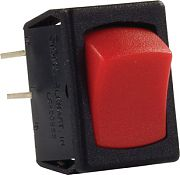 JR Products 12795 Mini 12 Volt On/Off Switch Red/Blk