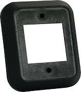 JR Products 13525 Spcr for Double Face Plate Blk
