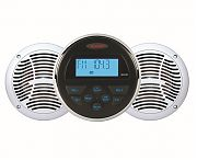 Jensen CPM150 AM/FM/USB/Bluetooth Stereo Package Includes MS30BTR and AM602W