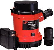 Johnson Pump 01674001 Ultima Combo Automatic Pump With Float Switch - 1600 12V