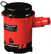 Johnson Pump 0220400 Combo Bilge Pump With Automatic Electromagnetic Switch - 2200 12V