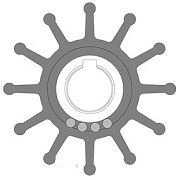 Johnson Pump 09701B1 Impeller Replacement Kit