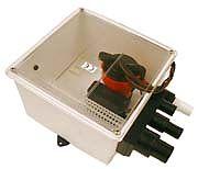 Johnson Pump 57151 Multiple Port Shower Sump Pump