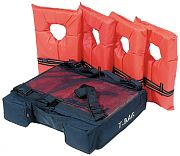 Kwik Tek PFDT4 T-Bag T-Top Storage Pack - Holds 4 Type II PFD´s
