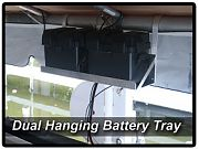 Lake Lite Dual Universal Hanging Battery Tray