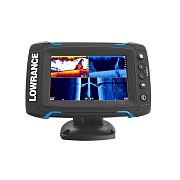 Lowrance ELITE-5 Ti Touchscreen Fishfinder/Chartplotter with TotalScan Transom Mount Transducer