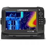 Lowrance HDS-7 Carbon with StructureScan 3D and C-MAP Insight Pro