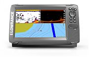 Lowrance HOOK2-9 GPS, Navionics+ US/Canada - with SplitShot Transducer