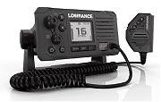Lowrance LINK-6 Gray VHF Marine Radio