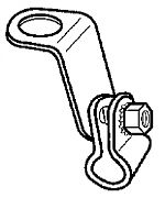 """Magma 10164 """"L"""" Bracket & Clamp Assembly"""