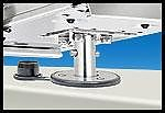 Magma T10326 Newport BBQ Single Locking Flush Deck Socket Mount