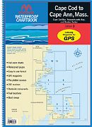 Maptech WPB02403 Chartbook Cap Cod Cap Ann Ma