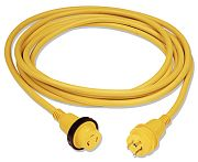 Marinco 199117 30A 125V Powercord Plus Cordset with LED - 25´