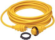 Marinco 199119 30A 125V Powercord Plus Cordset with LED - 50´