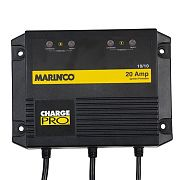 Marinco 28220 20A 2 Bank 110/230V Battery Charger