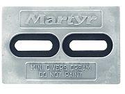 """Martyr CMDIVERMINI Driver´s Dream Anode - 6"""" x 4"""" x 1/2"""""""