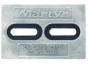 "Martyr CMDIVERMINIM Driver´s Dream Anode - 6"" x 4"" x 1/2"""