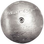 "Martyr CMR02M Rudder & Trim Tab Anode With Allen Screw - 2-13/16"" MA"