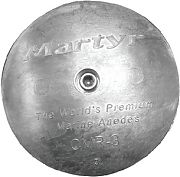 Martyr CMR04S Rudder Anode Set 5IN Diameter