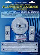 Martyr CMVERADO4KITA Mercury Verado Anode Kits Aluminum - 4 Cylinder