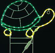 """Mings Mark 8080124 LED Deco Rope Light 18"""" Turtle"""