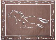 Mings Mark GH8117 Mat Horses 8´X11´ Brown White