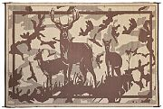 Mings Mark HC8117 Mat Deer 8´ X11´ Camo Brown