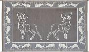 Mings Mark PA1 Mat Deer 9´X12´ Blk Brn Beige