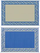 Mings Mark RC3-BLU 8X20 Patiomat Blue/Beige