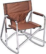Mings Mark SL1205-BROWN Camping Chair Rocker Brown