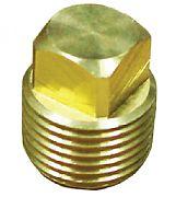 """Moeller 020307-10 Garboard Brass Repl Plug 1/2"""""""